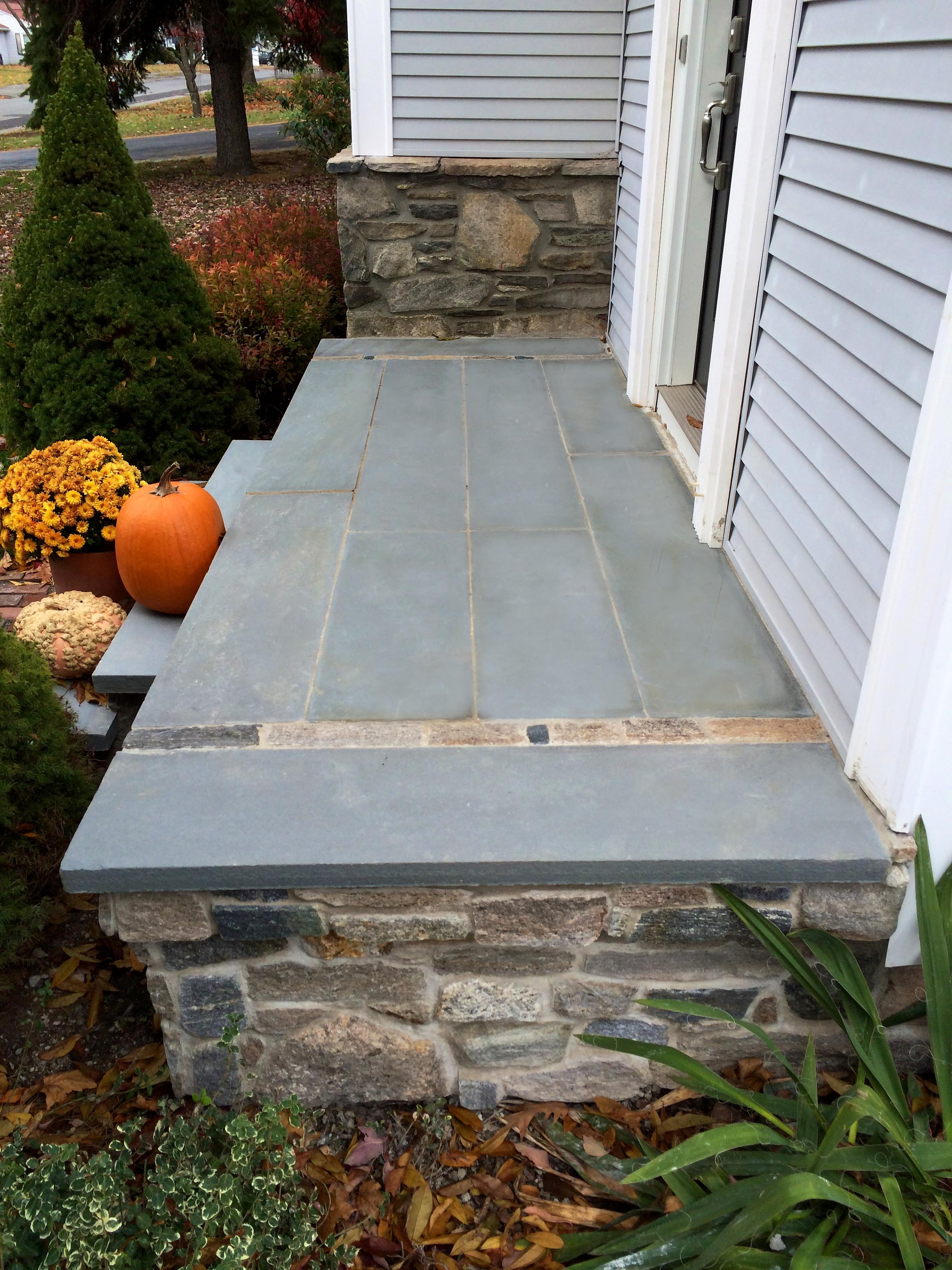 Bluestone & Granite Steps